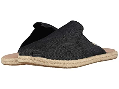 TOMS Nova (Black Denim) Women