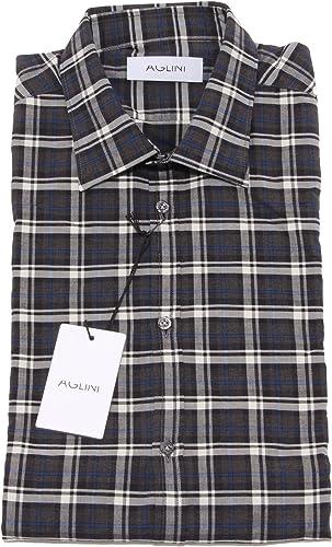 AGLINI 8170P Camicia quadretti Manica Lunga Camicie hommes Shirt Hommes
