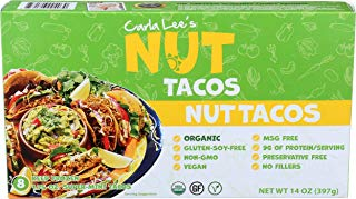 Carla Lee's Nut, Nut Tacos Super Mini, 14 Ounce