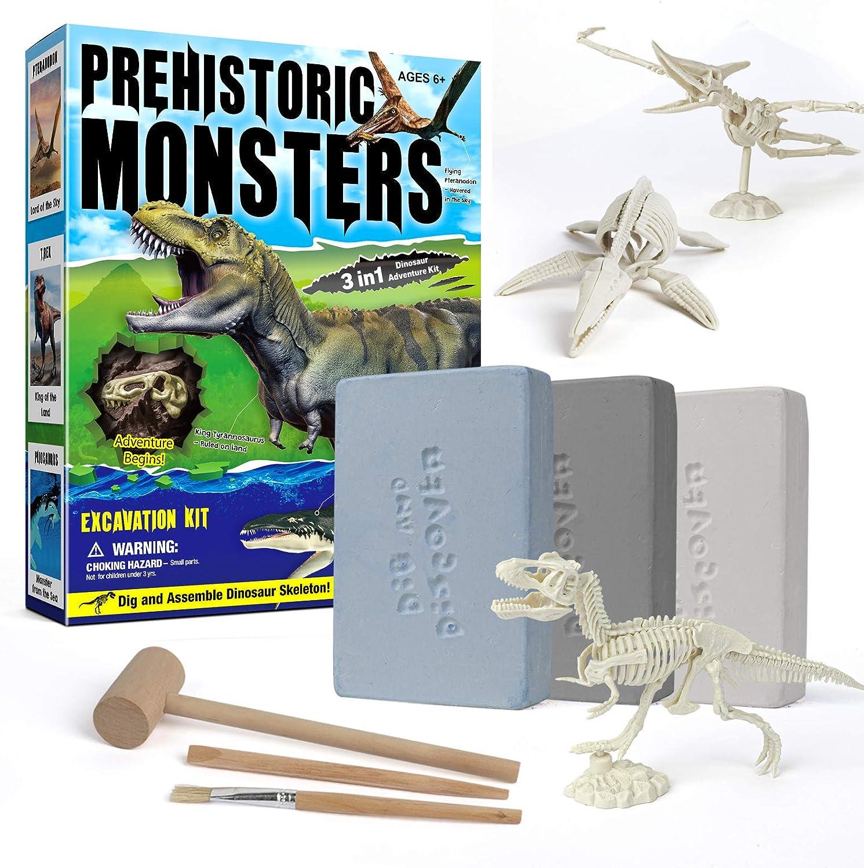 Safety and trust Bargain piberagi Dinosaur Excavation Kits Fossil Kit Di Digging