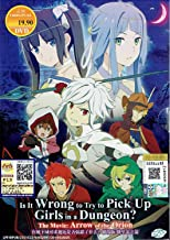IS IT WRONG TO TRY TO PICK UP GIRLS IN A DUNGEON? THE MOVIE : ARROW OF THE ORION - COMPLETE ANIME MOVIE DVD BOX SET