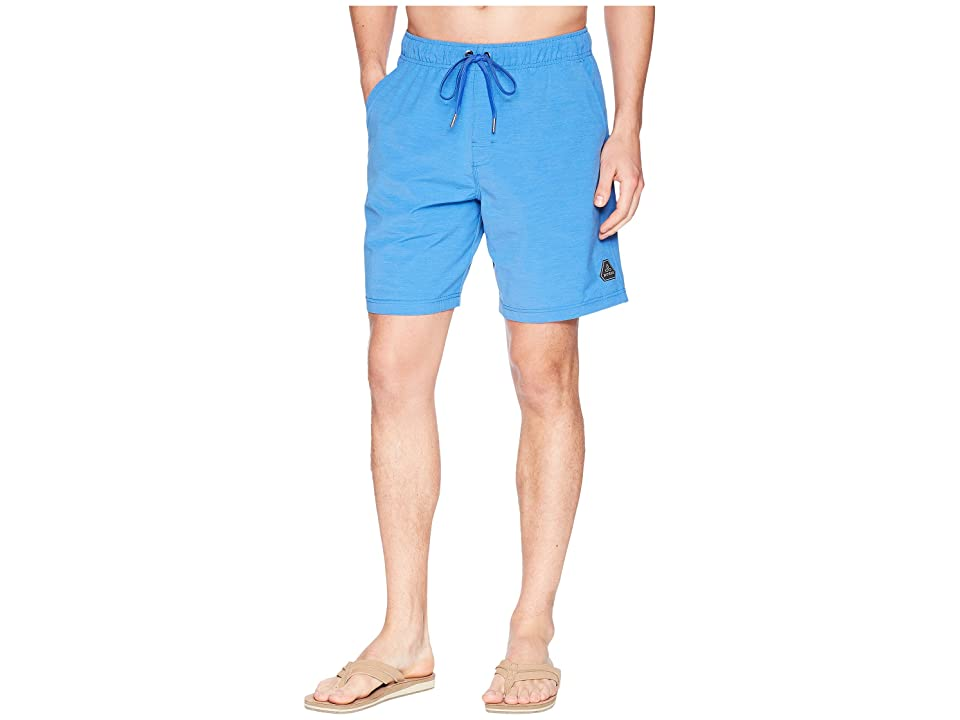 Prana Metric E-Waist Shorts (Island Blue) Men