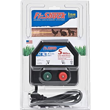 Fi-Shock EA5M-FS 5-Mile Low Impedance Electric Fence Energizer