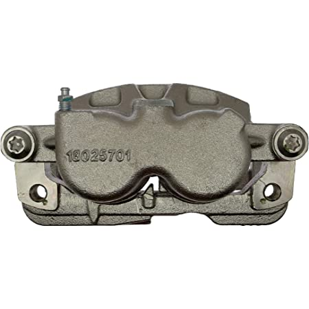 Friction Ready Non-Coated Remanufactured ACDelco 18FR2386 Professional Front Driver Side Disc Brake Caliper Assembly without Pads