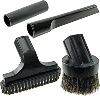 Spares2go Mini Crevice Stair & Round Brush Tool Kit For Numatic Henry HVR200 Vacuum Cleaners (32mm)