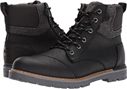 d96bcaf357b Black Pull-Up Leather