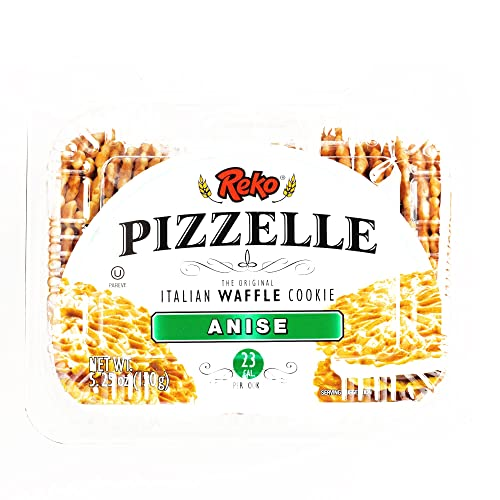 Reko Anise Pizzelle Cookies 5.25 oz each (1 Item Per Order, not per case