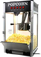 Paramount 16oz Popcorn Maker Machine - New 16 oz Hot Oil Commercial Popper [Color: Black]