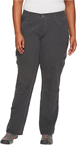 Plus Size Splash Roll-Up Pants