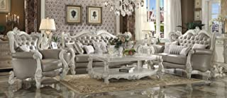 ACME Versailles Living Room Set with Sofa and Loveseat