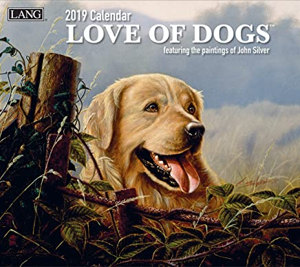The LANG Companies Love of Dogs 2019 Wall Calendar (19991001927)