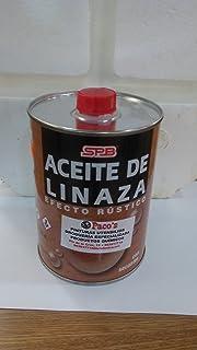 ACEITE DE LINAZA PURO CON SECANTE 1L