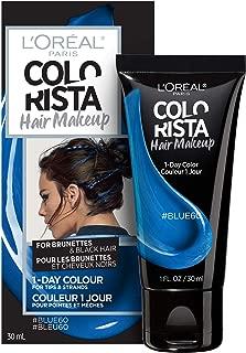 L'oreal Paris Hair Color Colorista Makeup 1-day for Brunettes, Blue 60, 1 Fl Oz