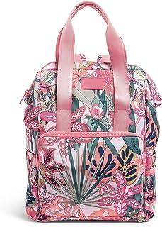 Vera Bradley Women's Recycled Lighten Up Reactive Cooler Backpack, Garden Picnic, One Size