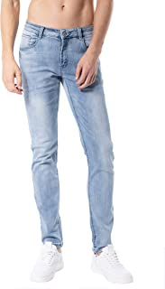Slim Fit Jeans, Men's Younger-Looking Fashionable Colorful Super Comfy Stretch Skinny Fit Denim Jeans…
