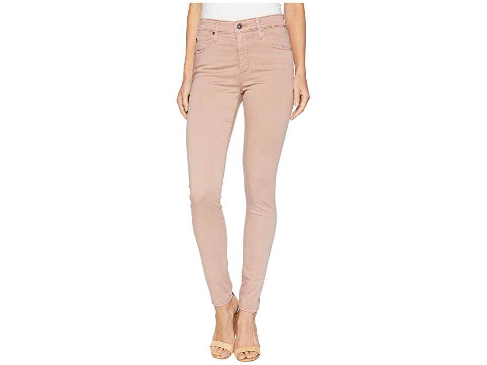Image of AG Adriano Goldschmied Farrah Skinny Ankle in Sulfur Pale Wisteria (Sulfur Wet Pasture) Women's Jeans