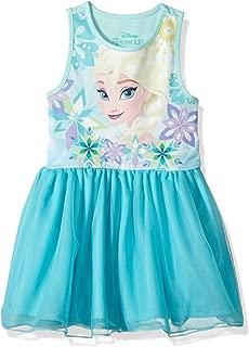 Girls' Toddler Frozen Elsa Ruffle Dress