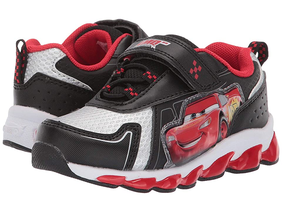 Josmo Kids Cars Sneaker (Toddler/Little Kid) (Black/Red) Boy