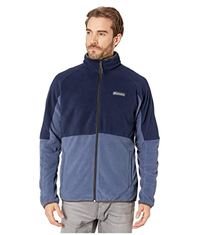 Columbia Basin Trailtm Fleece Full Zip Jacket (Dark Mountain/Collegiate Navy/Buffalo) Men