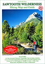 Sawtooth Wilderness Hikng Map and Guide