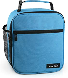 Hap Tim Insulated Lunch Bag for Men Women,Reusable Lunch Box for Boys,Spacious Lunchbox Adult (18654-BL)