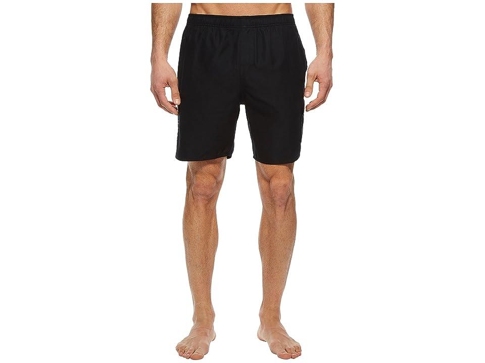 Quiksilver Waterman Balance Volley Swim Trunks (Black) Men