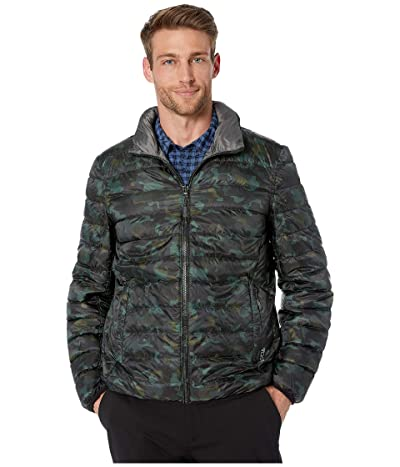 Tumi Patrol TUMIPAX Reversible Jacket (Camo Print/Slate Grey) Men
