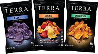 Terra Snack Size Variety Pack, Original, Blue, Sweet Potato, Multipack, 24 Count