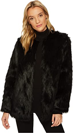 Jack by BB Dakota Bardot Faux Fur Jacket