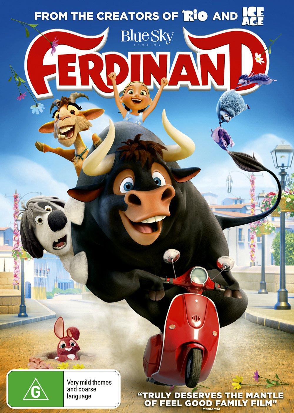 Ferdinand NON-USA SALENEW very popular! Format PAL Region - 4 Import Excellent Australia