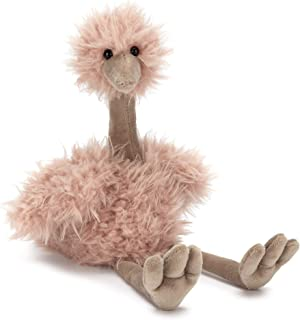 Jellycat Bonbon Ostrich Stuffed Animal, 10 inches