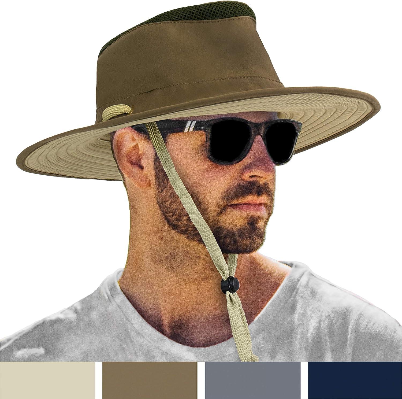 SUN Store CUBE Fishing Hiking Hat for quality assurance Brim Men Boo Safari Sun Wide
