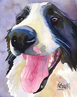 Best border collie painting Reviews