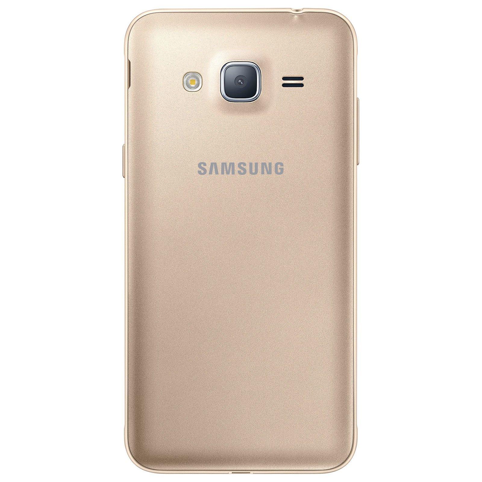 Samsung Galaxy J3 (2016) SM-J320F SIM Doble 4G 8GB Oro: Samsung ...