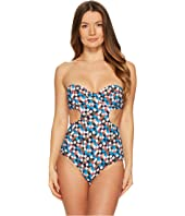 Tory Burch Swimwear - Clemence Underwire One-Piece