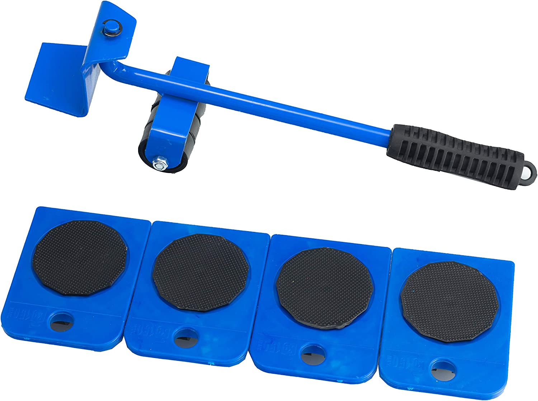 Transportador Movil Transportador de Muebles, Kit de Toboganes de Muebles, Muebles Pesados Herramientas de Movimiento de Rodillo, 360 Grados Rotativos