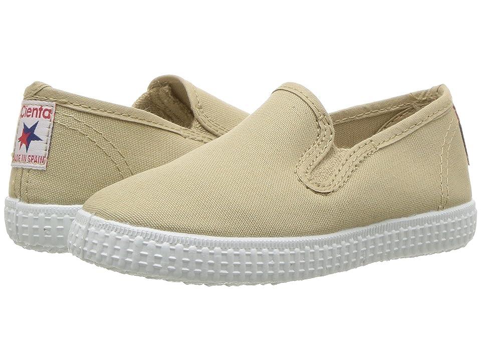 Cienta Kids Shoes 57000 (Infant/Toddler/Little Kid/Big Kid) (Tan) Kid