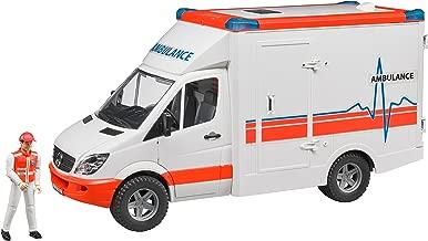bruder 02536 MB Sprinter Ambulance with Driver Vehicle