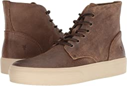 Tan Waxed Suede