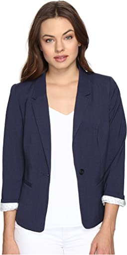 kensie Heather Stretch Crepe Blazer KS2K2S54