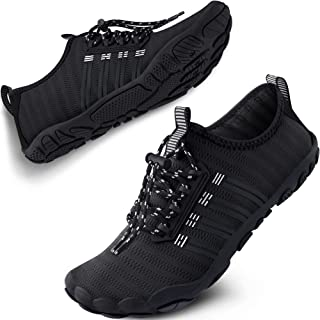 SAYOLA Mens Womens Water Shoes Quick Dry Sports Swim Aqua Shoes Barefoot Diving Boating Beach SA001