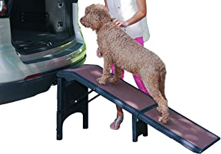 Pet Gear Free Standing Ramp for Cats and Dogs. Great for SUV's or use Next to Your Bed. 4 Models to Choose from, Supports ...