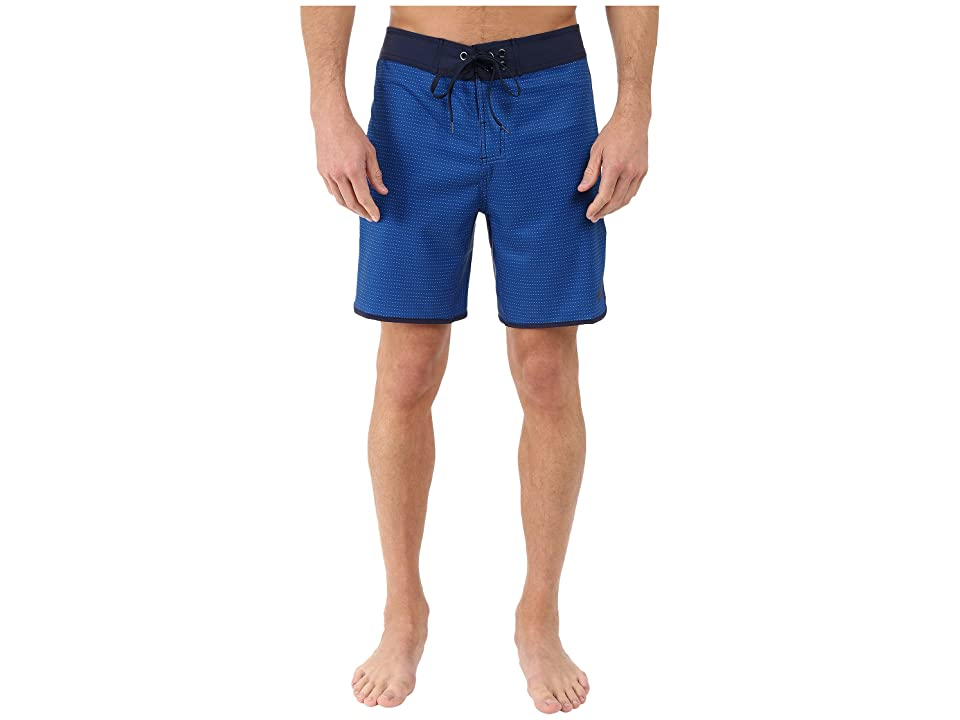 The North Face Whitecap Boardshorts Short (Limoges Blue Dash Stripe (Prior Season)) Men