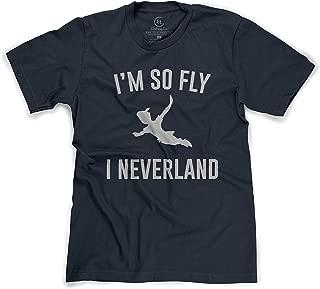 I'm So Fly I Neverland Funny Pan Cartoon T-Shirt