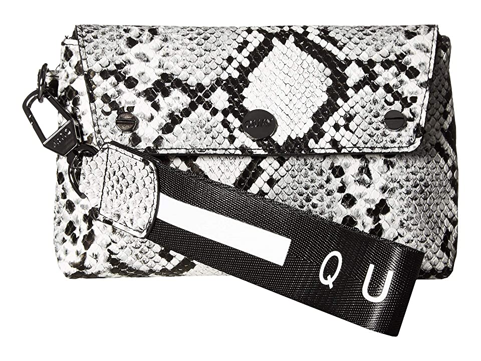 QUAY AUSTRALIA Wristlet (White/Black/Gun) Handbags