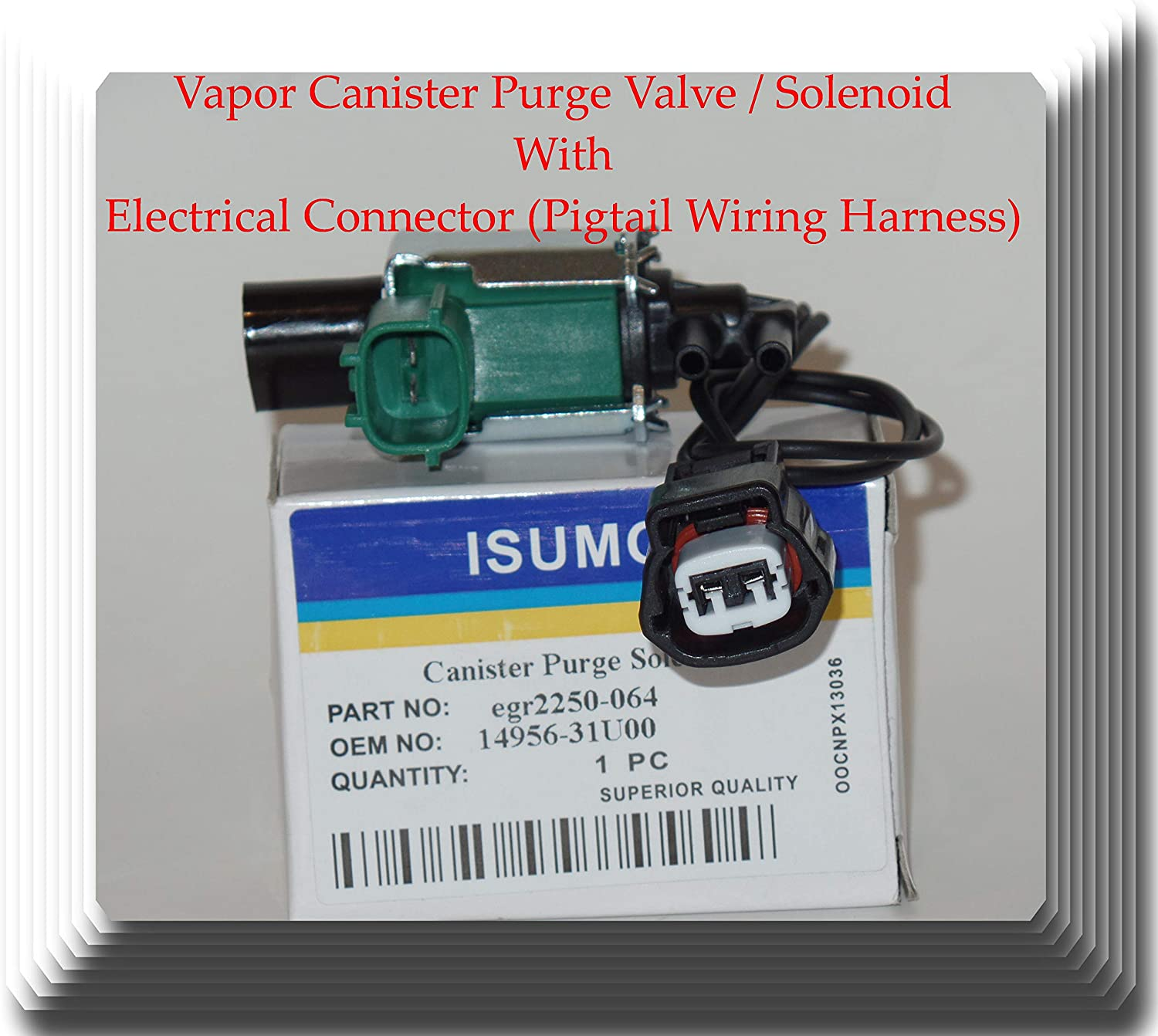 Seattle Mall 14956-31U00 14956-31U01 EGR Valve Control Ranking TOP2 With E Solenoid Switch