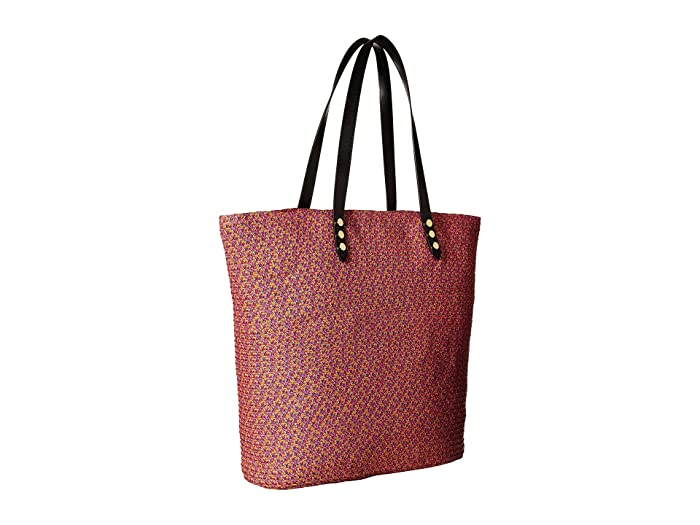 San Diego Hat Company Bsb1557 Tote Bag With Pop Color Lining And Interior Zippered Pocket Metal Snap Closures - Bags Handbags