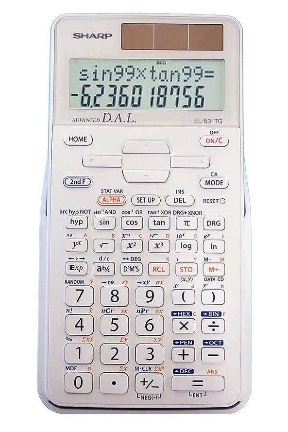 化学薬品からかう失業者EL-531X Scientific Calculator