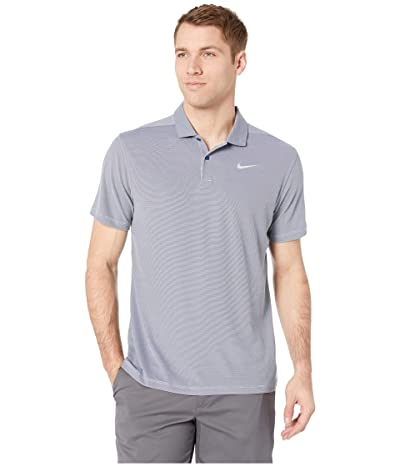 Nike Golf Dry Essential Elevated Polo (Blue Void/Heather/Flint Silver) Men