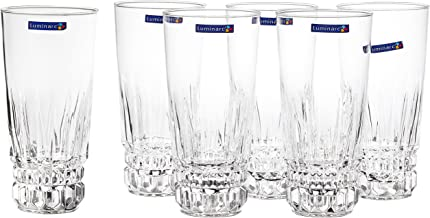 Dajar 33727Luminarc Emperor drinking glasses, set of 6,310 ml